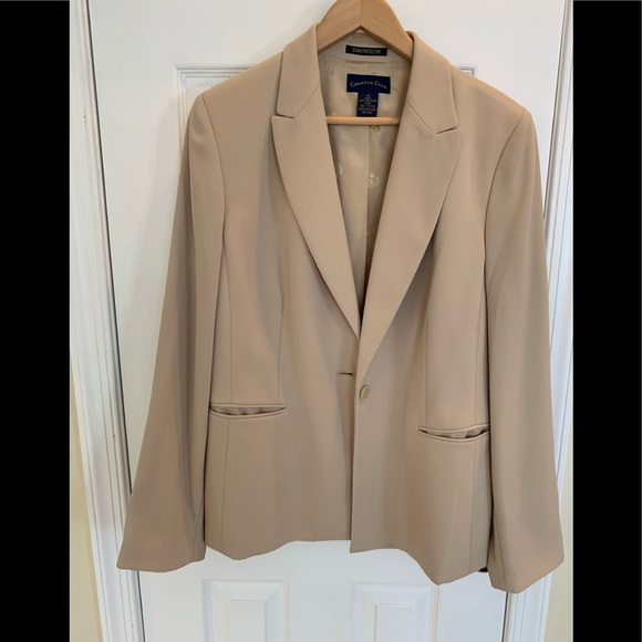 Charter Club Jackets & Blazers - Light tan fully lined jacket